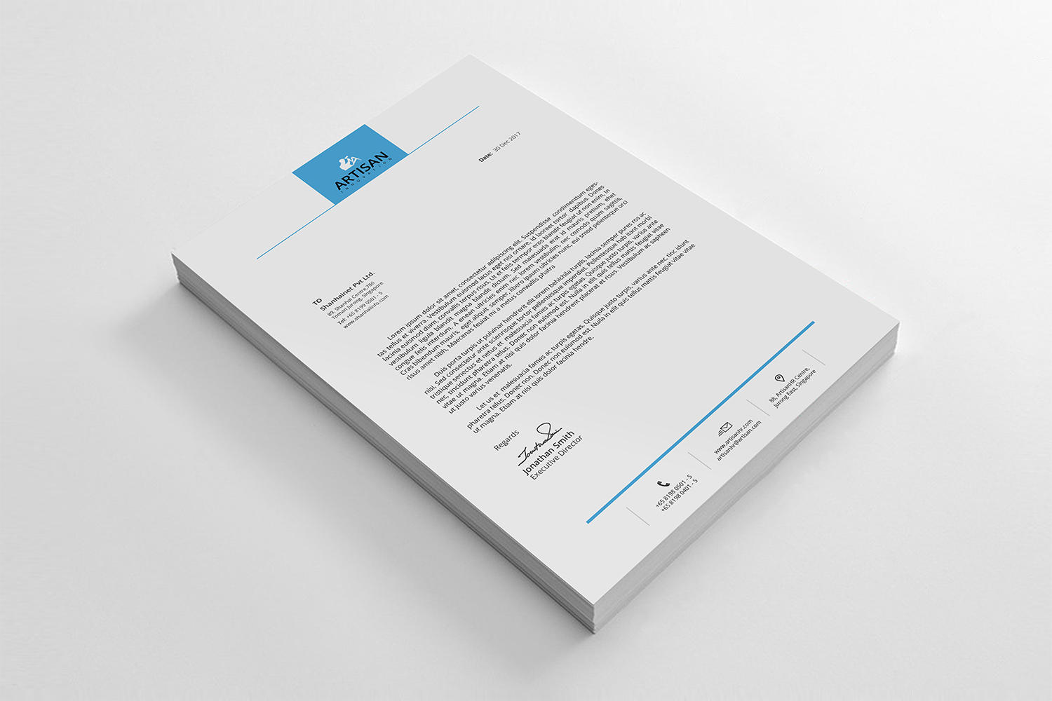 Simple Letterhead Bundle example image 4
