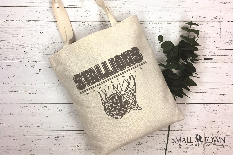 Stallion, basketball, Team, logo, PRINT, CUT & DESIGN example image 4