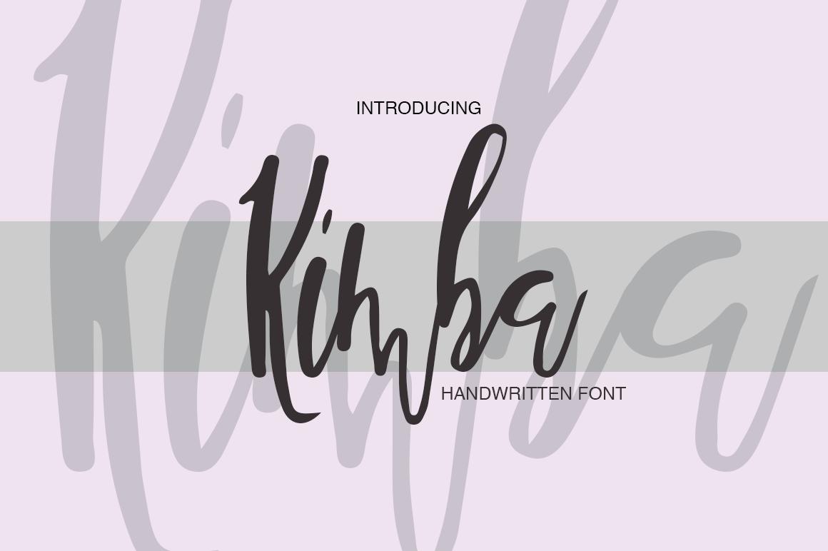 Kimba example image 8