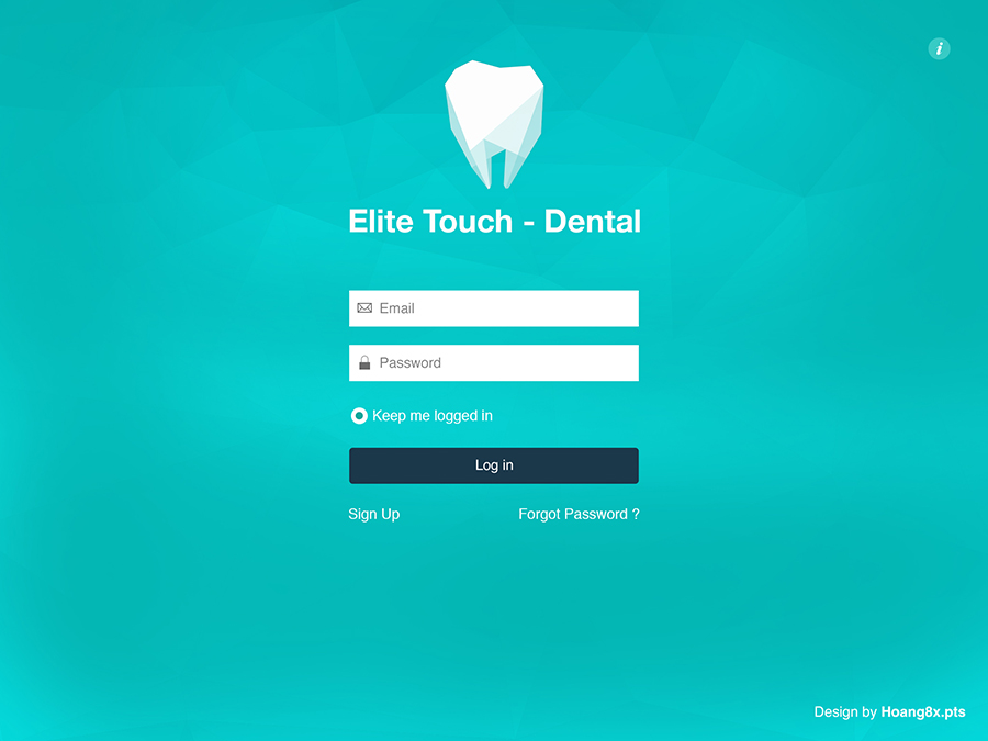 Elite Touch Dental UI Graphic Assets example image 3