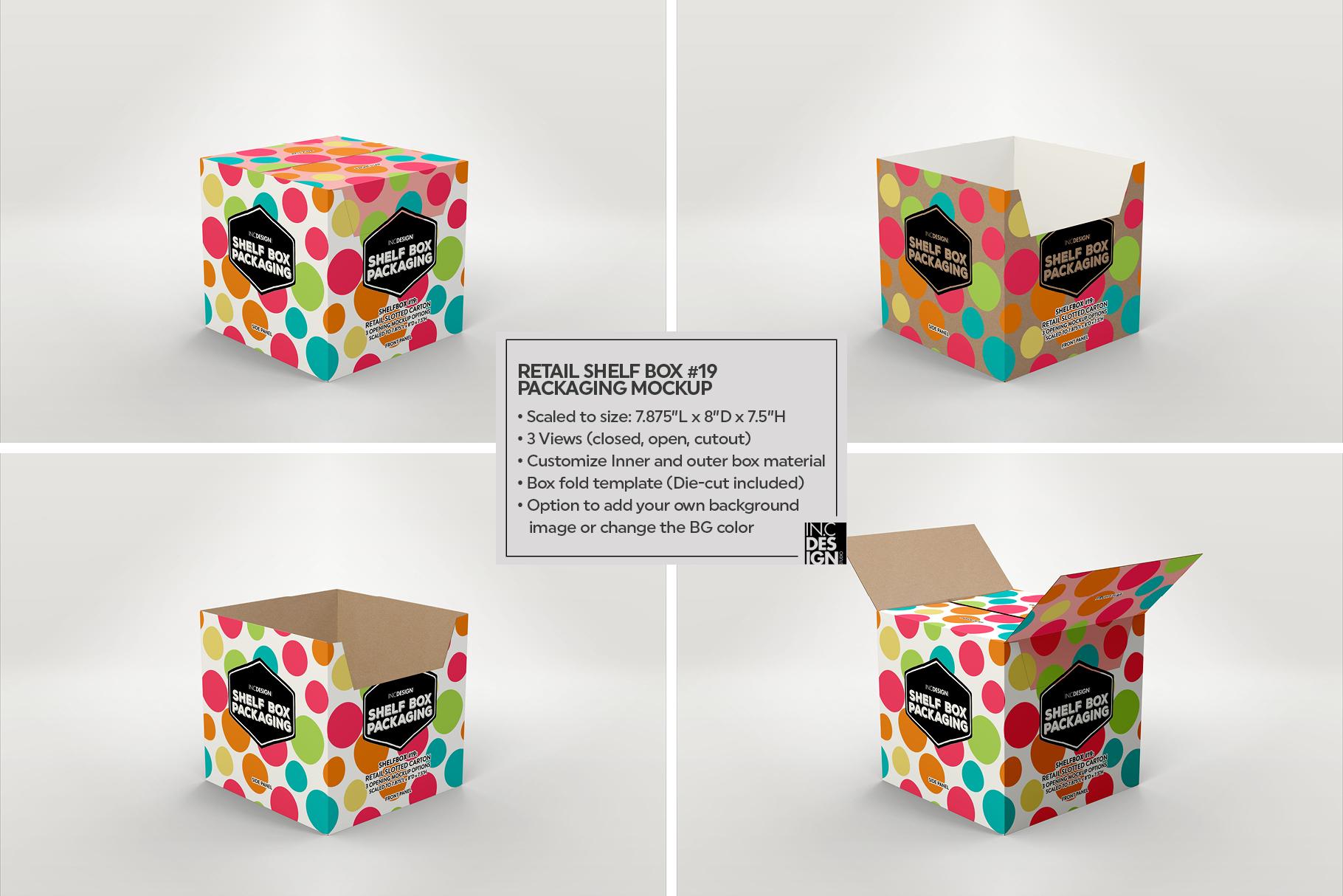 Shelf Box Packaging Volume 4 example image 13