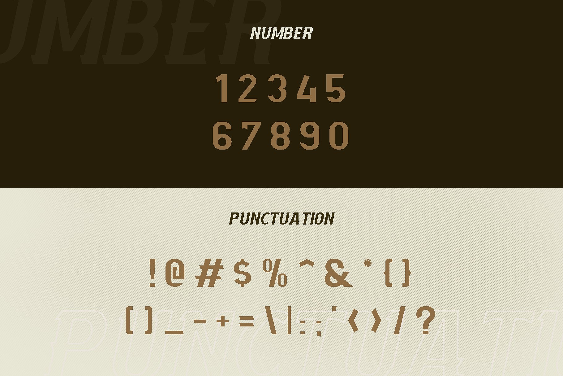 Mourbout - NFC Font Family example image 3