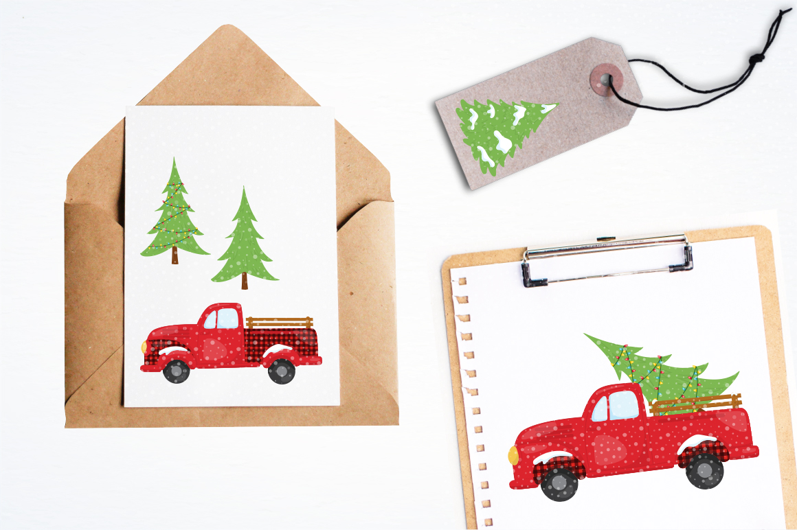 Christmas Tree graphic and illustrations example image 4