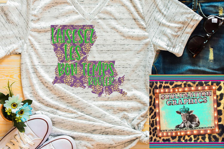 Mardi Gras Sublimation Digital Download example image 1