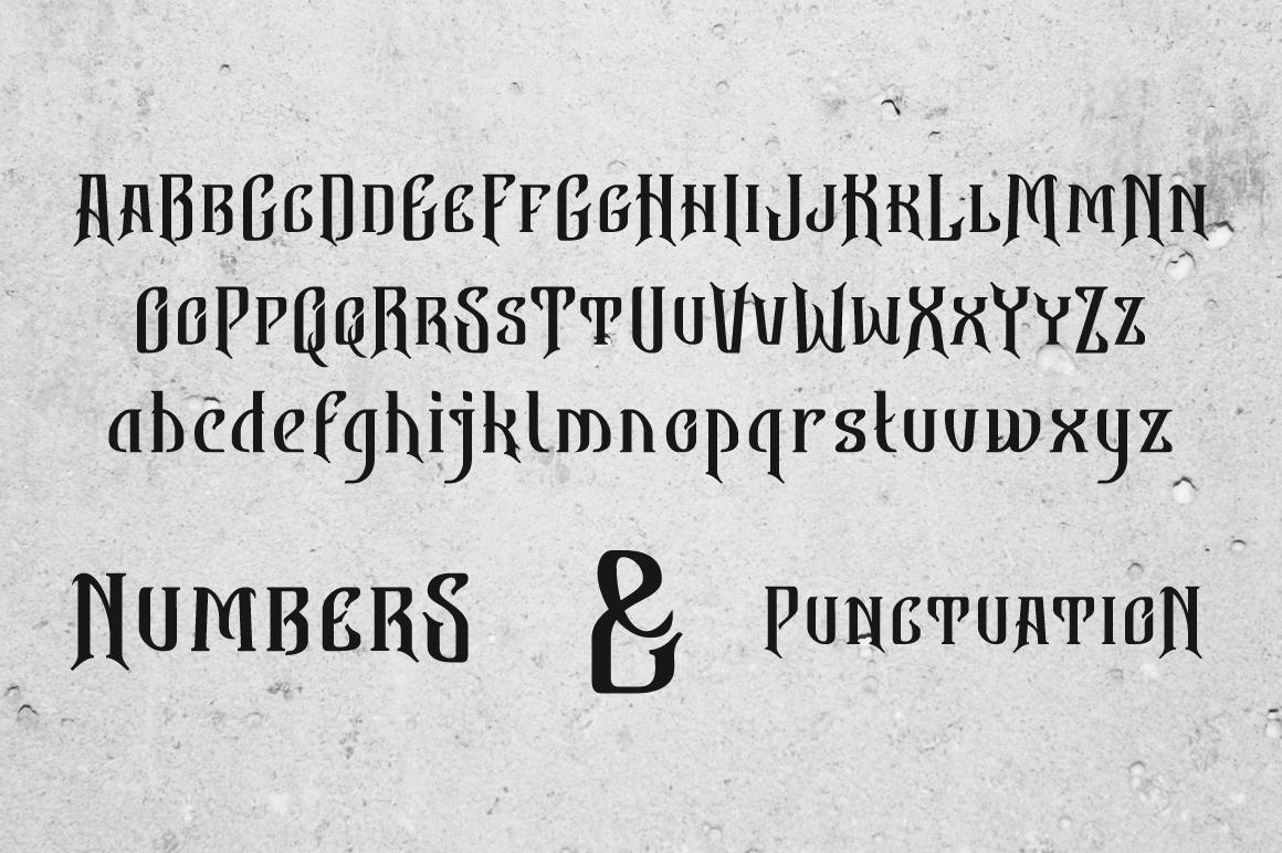 Bekelakar Typeface example image 3