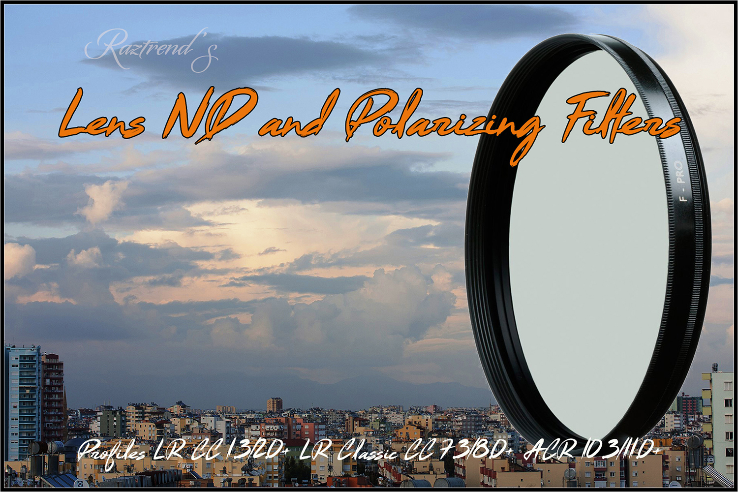 Lens ND & Polarizing Filters Profiles LR ACR example image 1