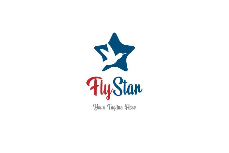 Happy Star, Travel Logo example image 1