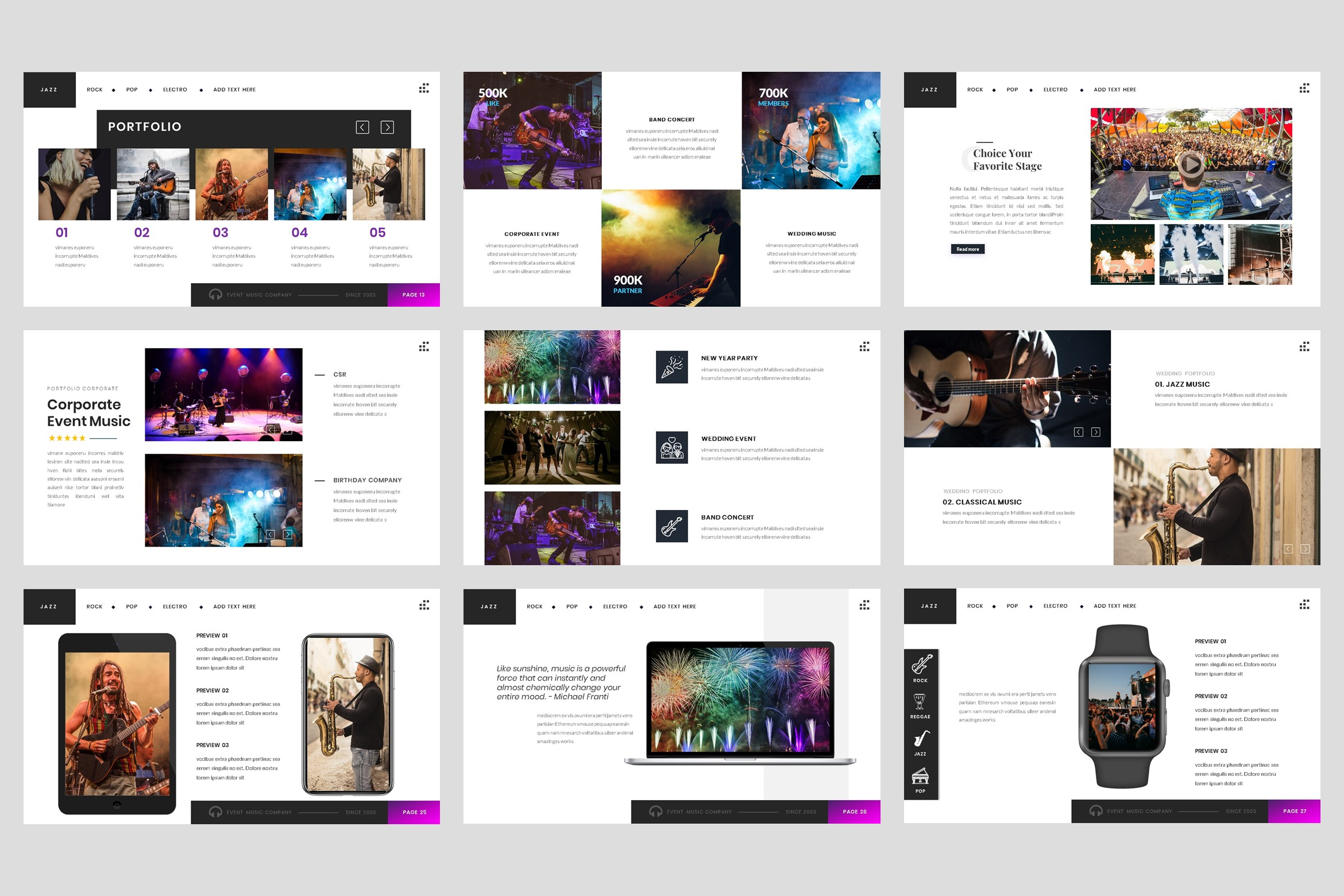 Event - Music keynote Template example image 4