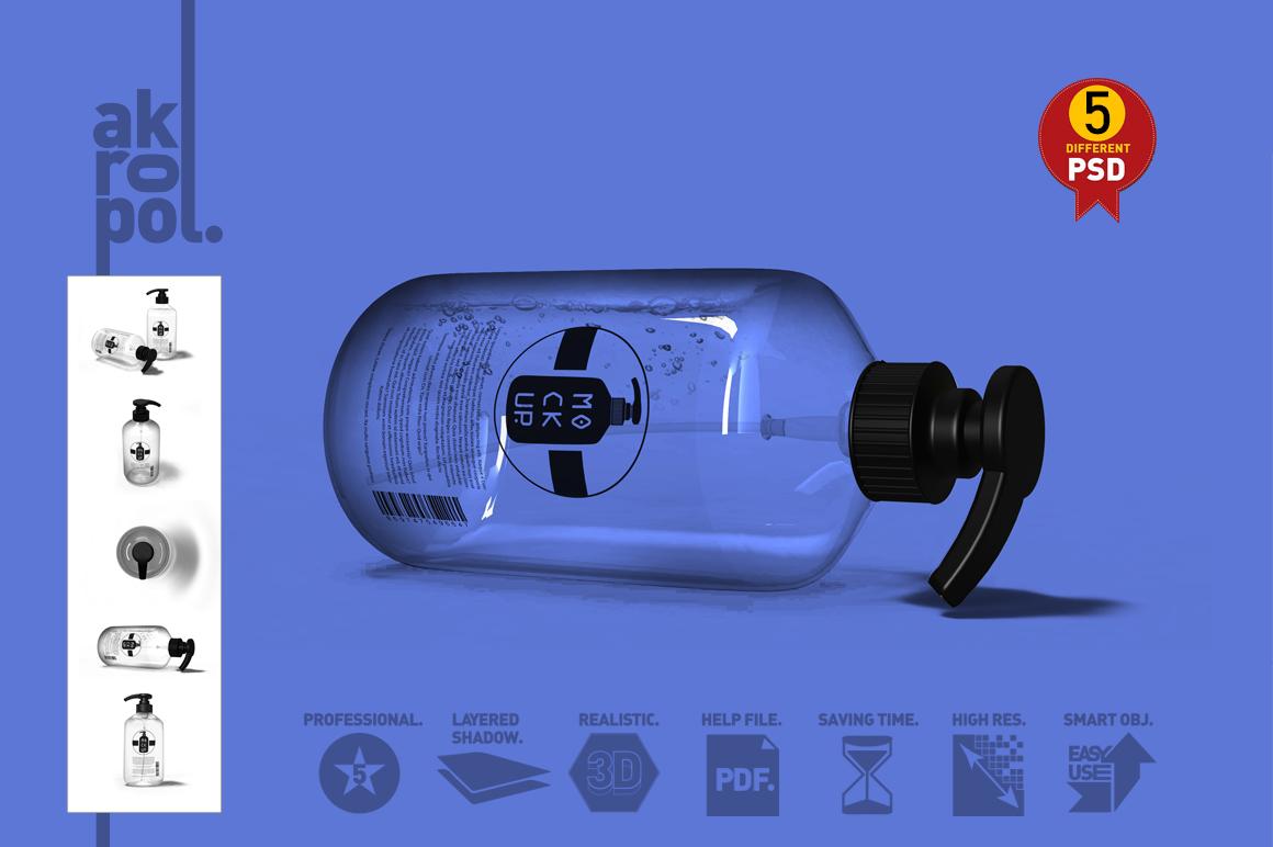 Pump Bottle Mock Up example image 3