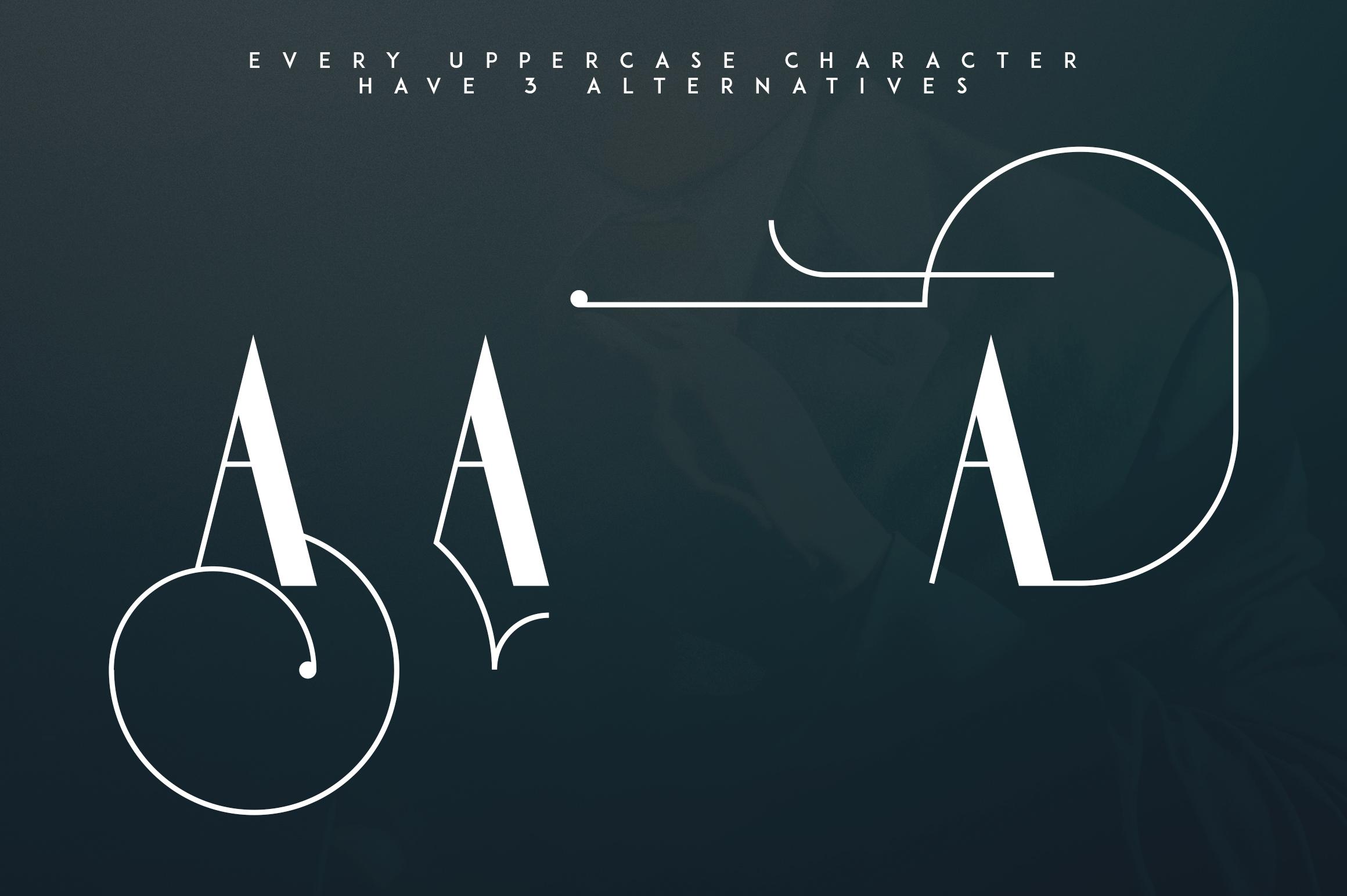 Gentleman font  10 Logo Templates example image 9