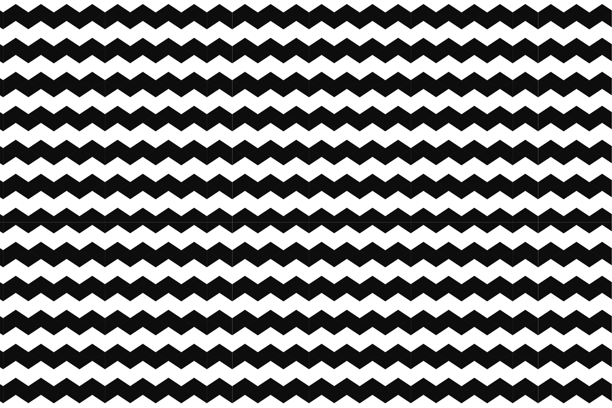 Wave&Zigzag seamless patterns. B&W. example image 13