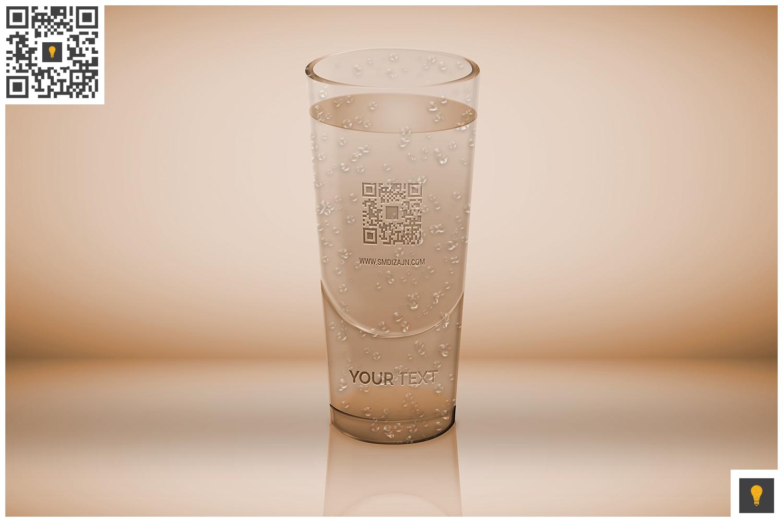 Logo Mockup on Translucent Glass example image 3
