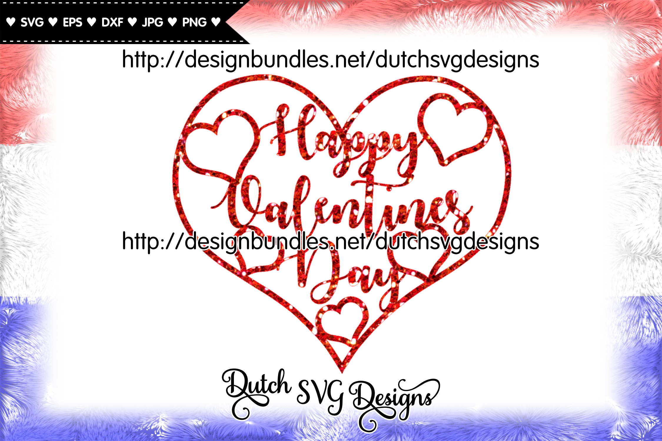 Happy Valentines Day cut file, valentine svg, heart svg example image 2