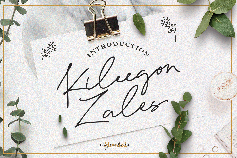 Kileegon Zales Signature example image 1