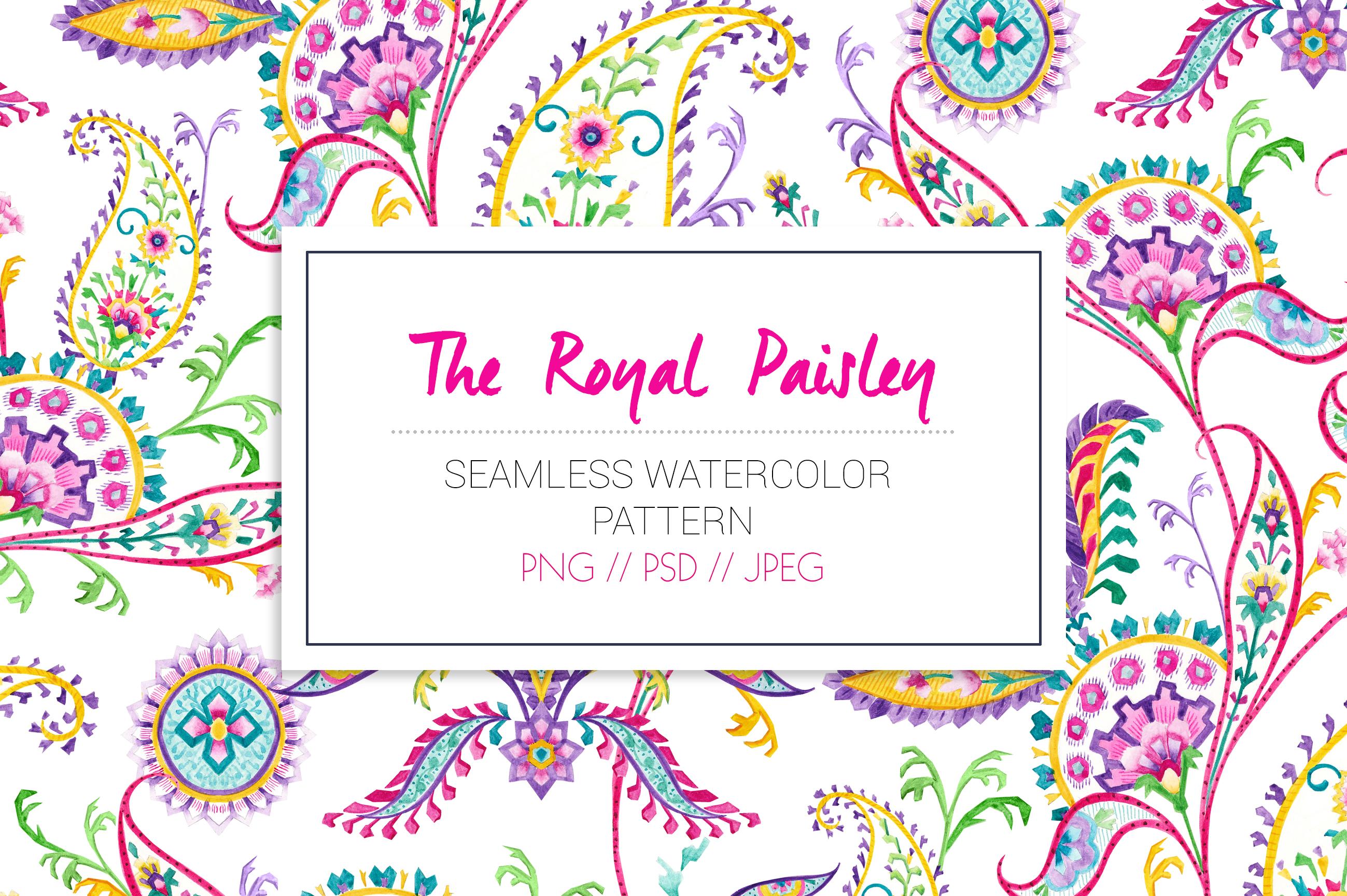 Royal Paisley example image 4