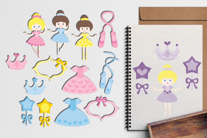 Just For Girls Clip Art Illustrations Huge Bundle example image 26
