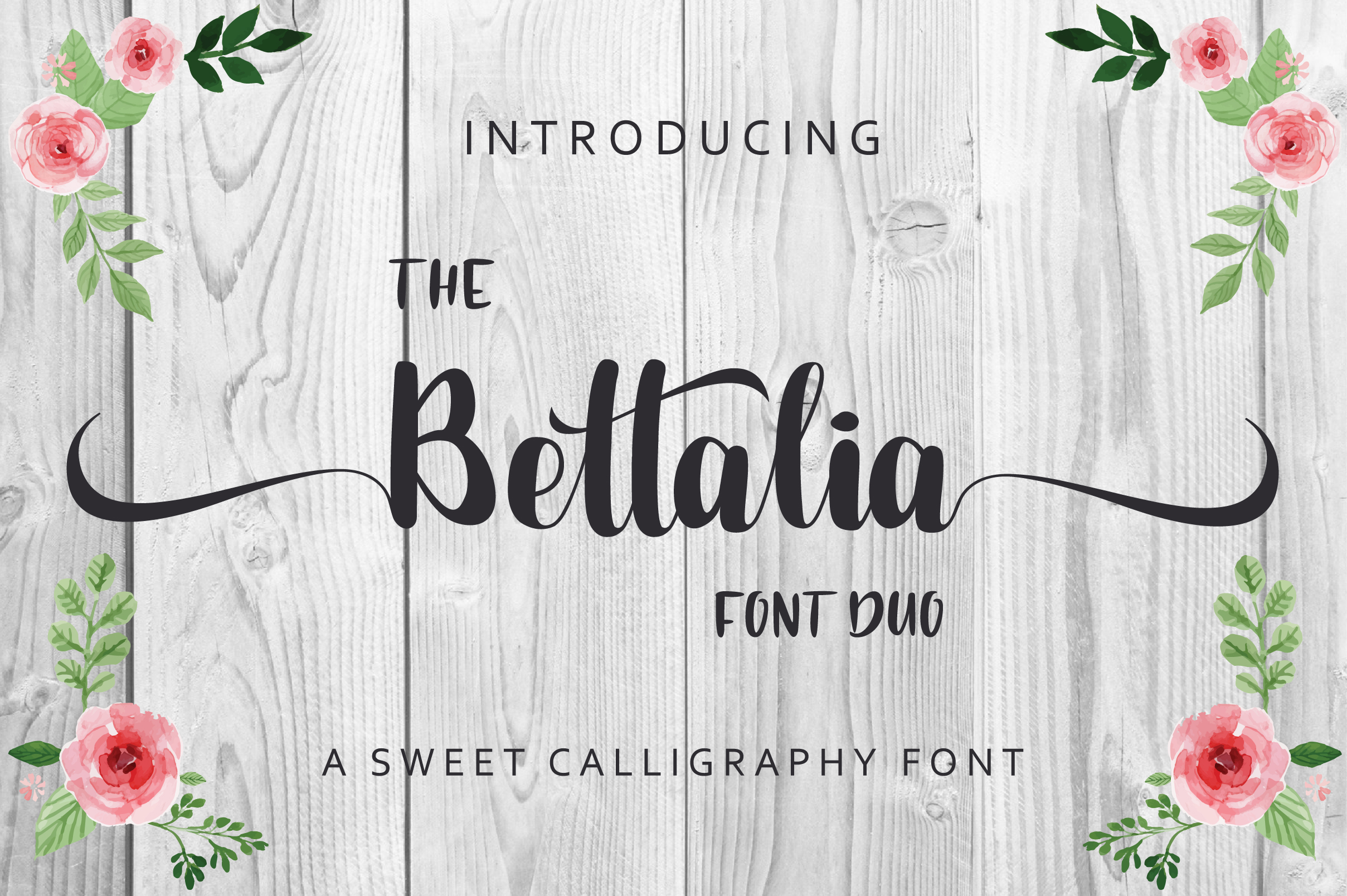 The Bettalia Font Duo example image 12