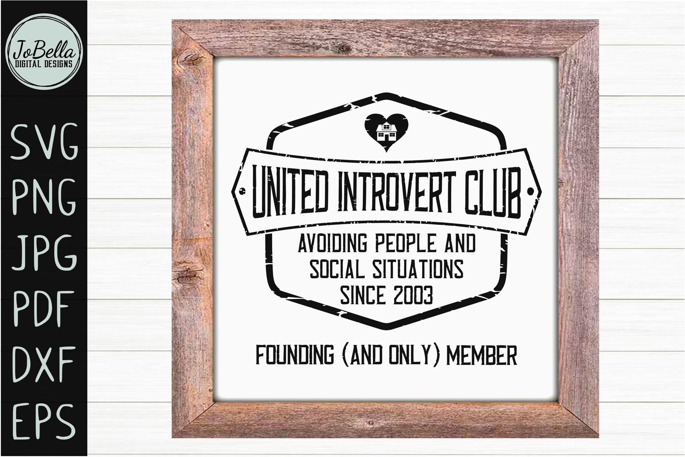 Sarcastic Intovert SVG, Sublimation PNG and Printable example image 3