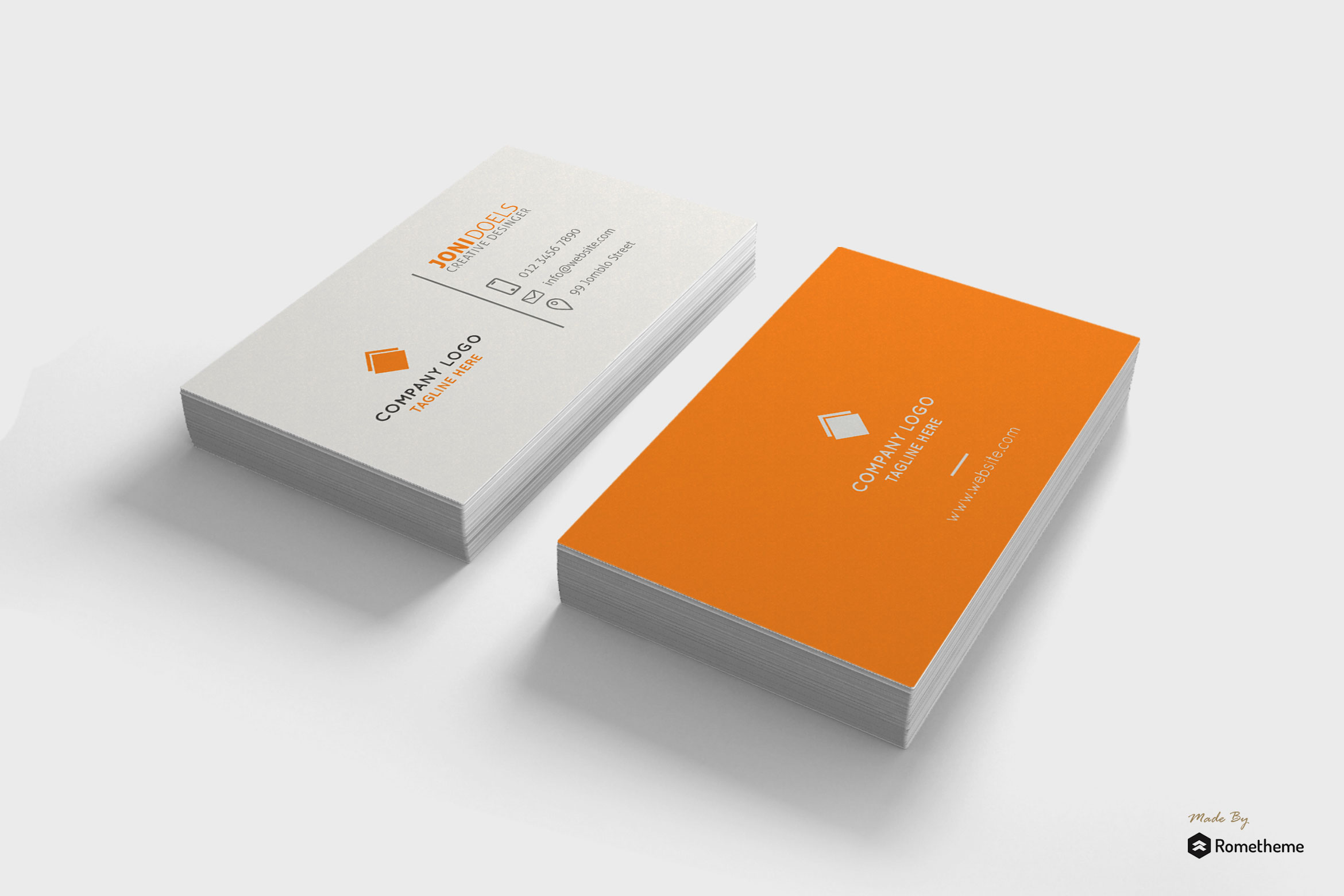 Business Card vol.03 example image 1