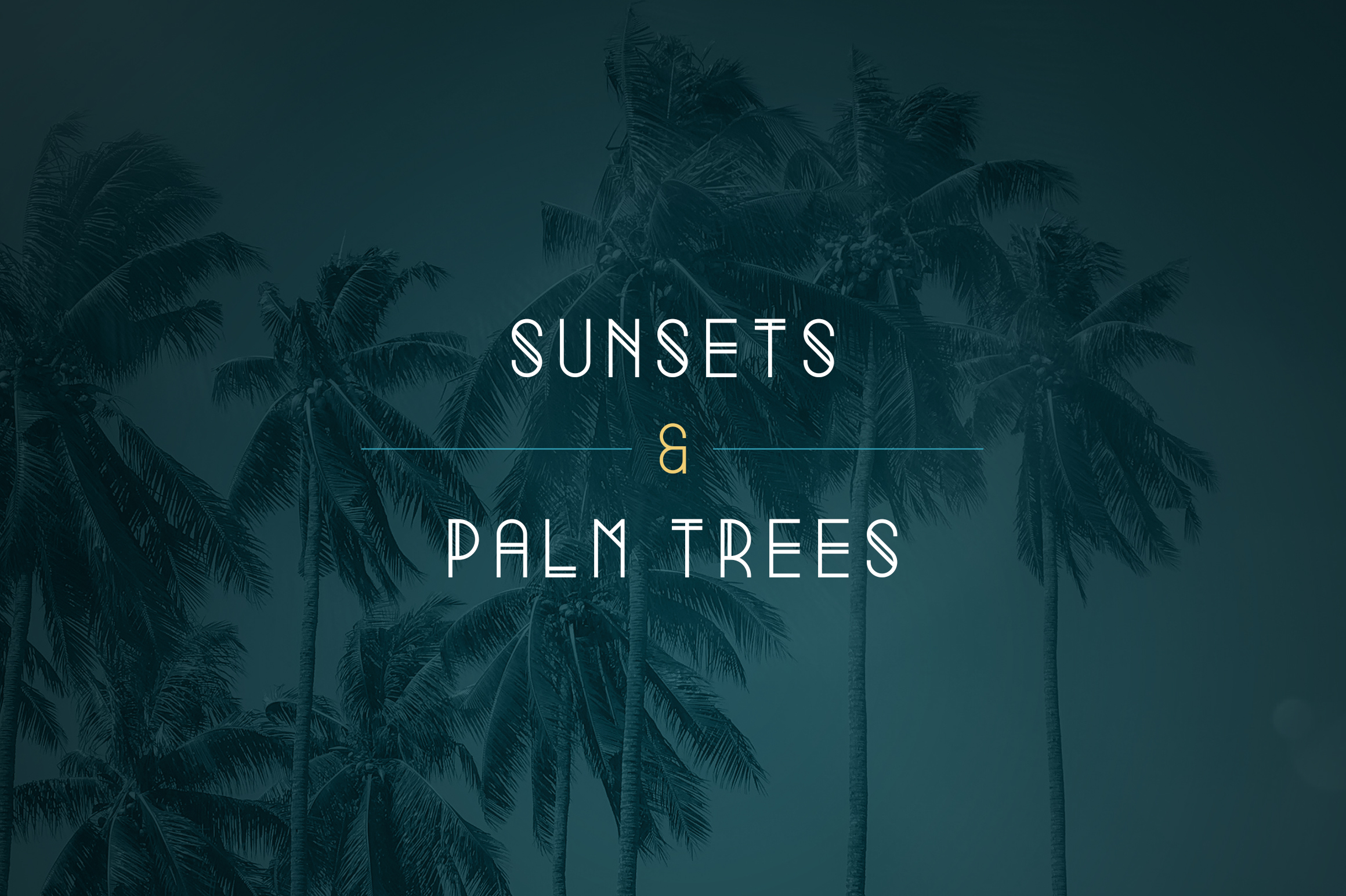 Summer Display Font family example image 5