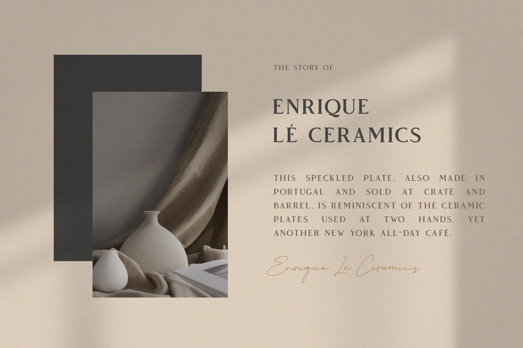 Vendeur - Elegant Serif Font example image 6