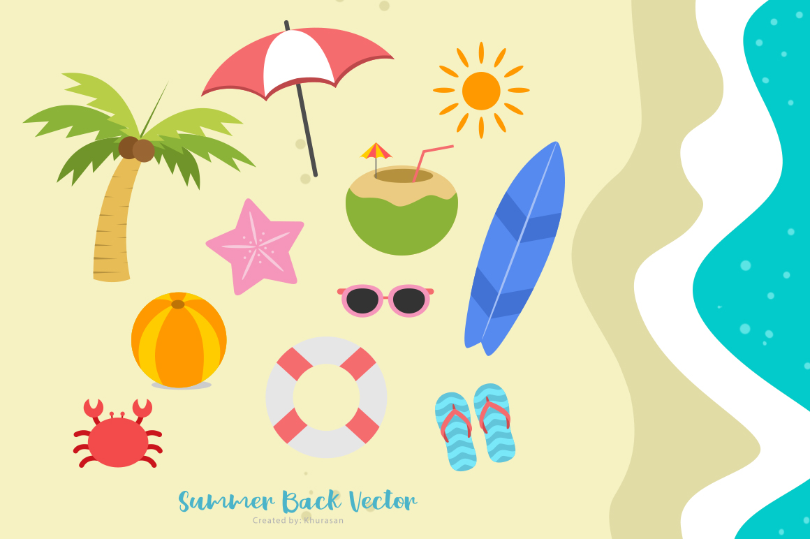 Summer Back Script example image 4