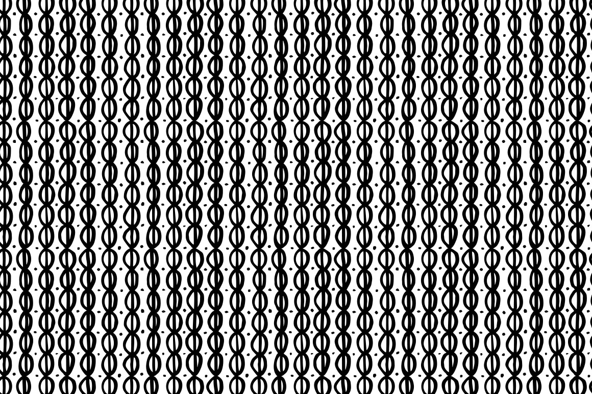 Hand drawn pattern collection example image 9