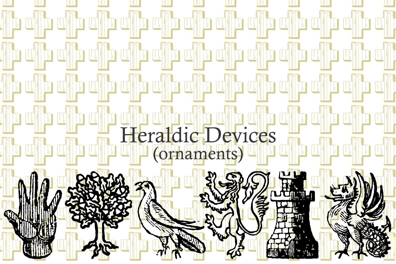 Heraldic Devices Premium   example image 6