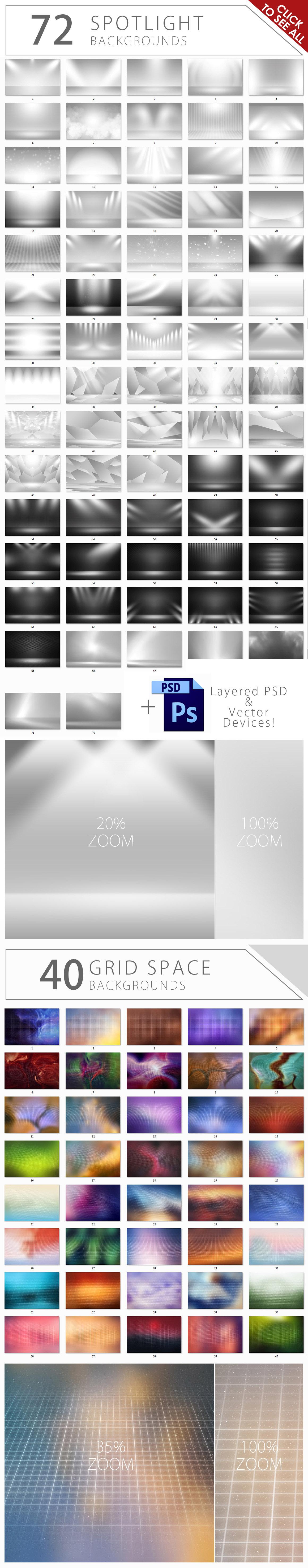 Supermassive Backgrounds Bundle example image 9