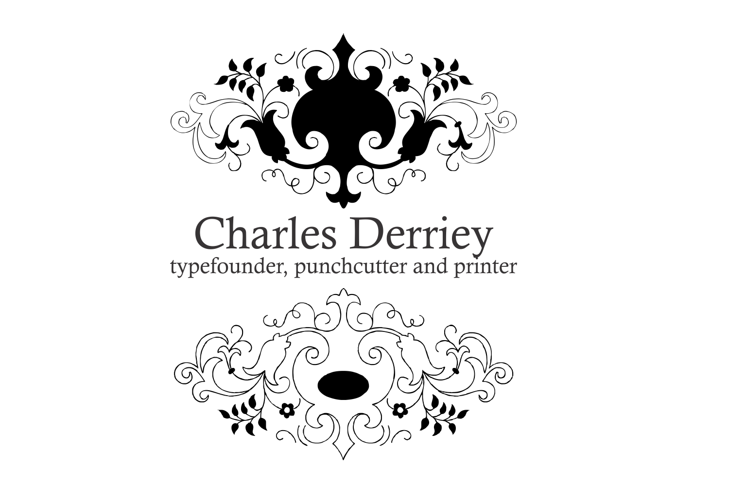 Derriey Vignettes Family Pack (5 fonts) example image 8