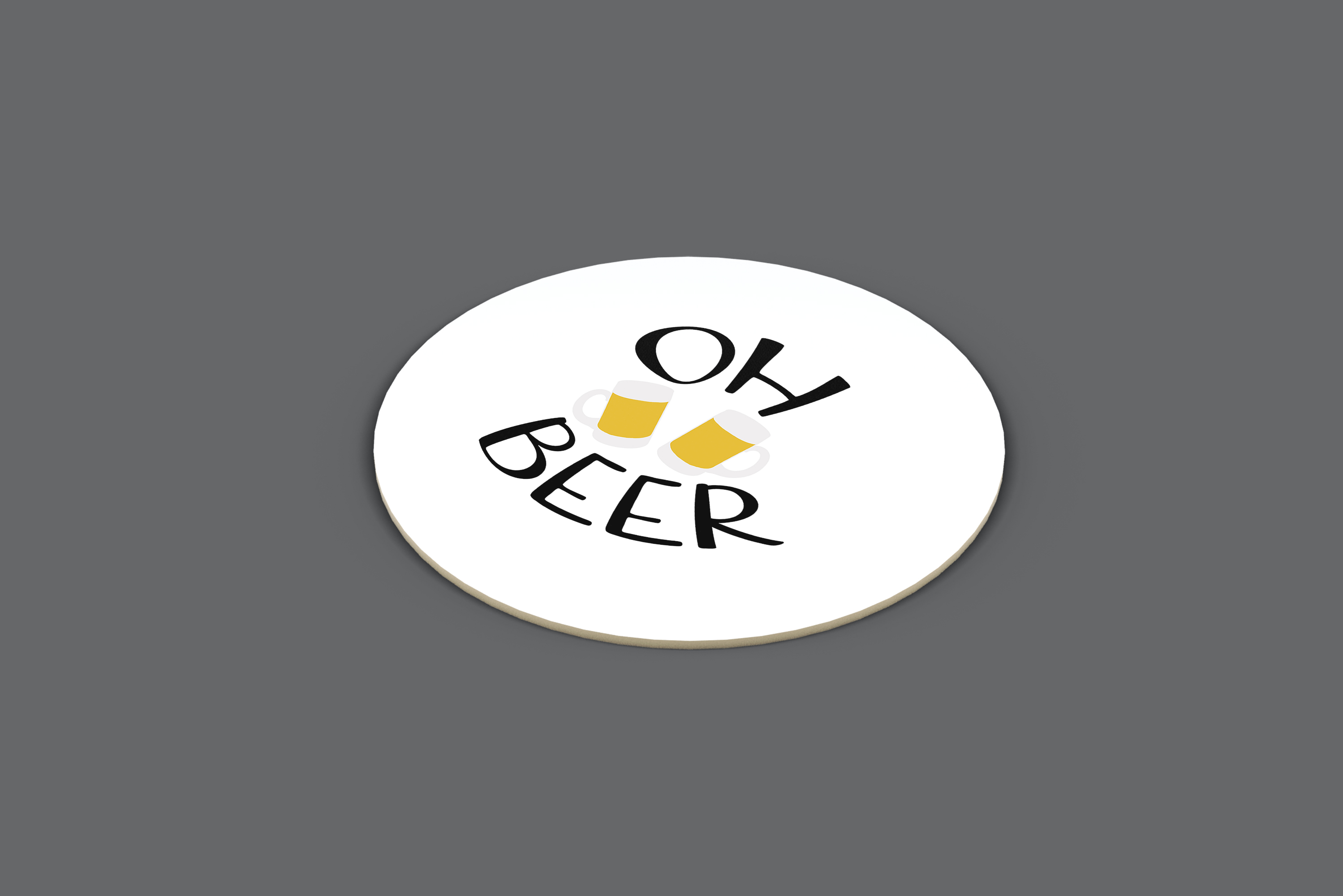 Oh Beer Vector Quote example image 3