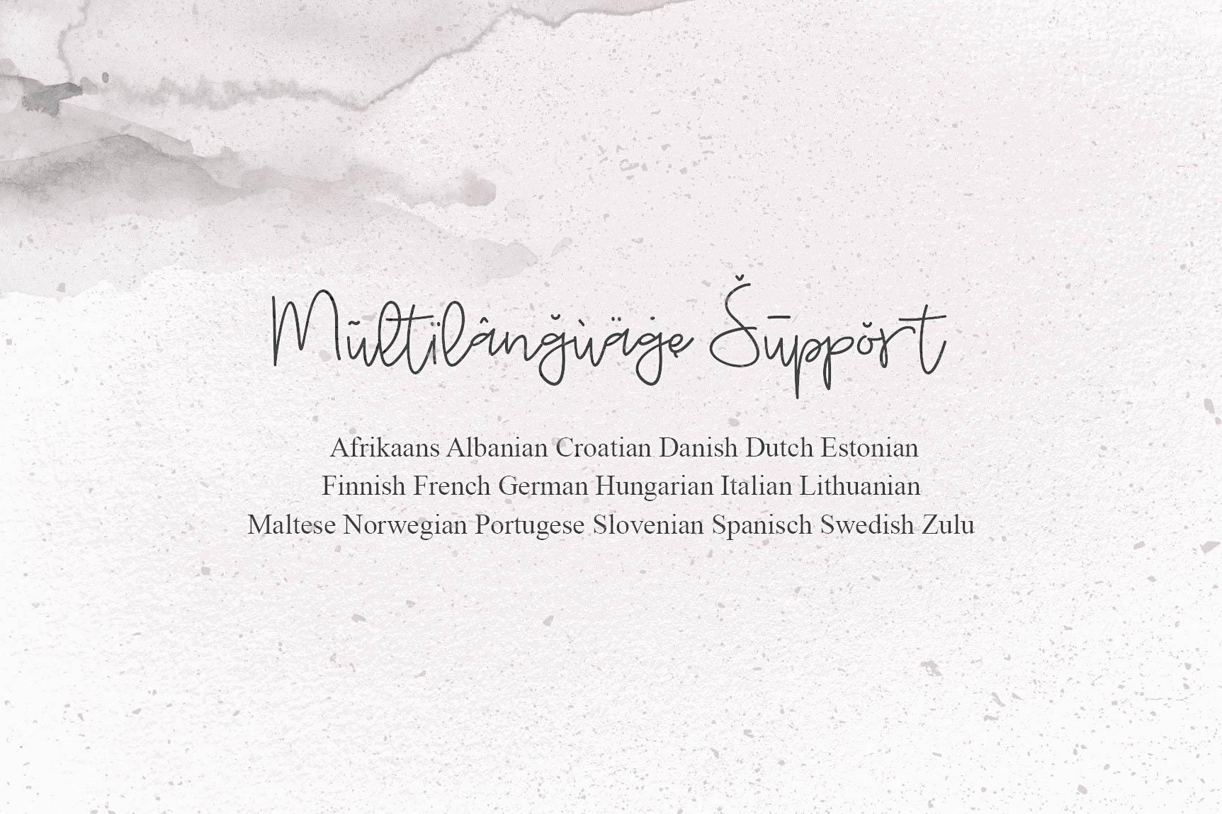 Budayut signature font example image 9