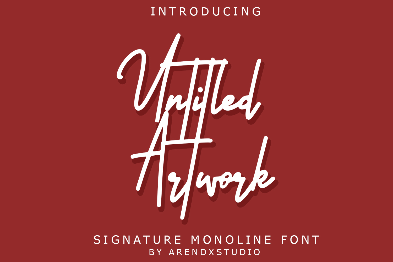 Untitled Artwork Signature example image 1