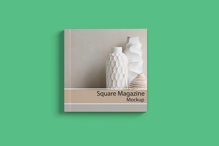 Square Magazine Mockup example image 3