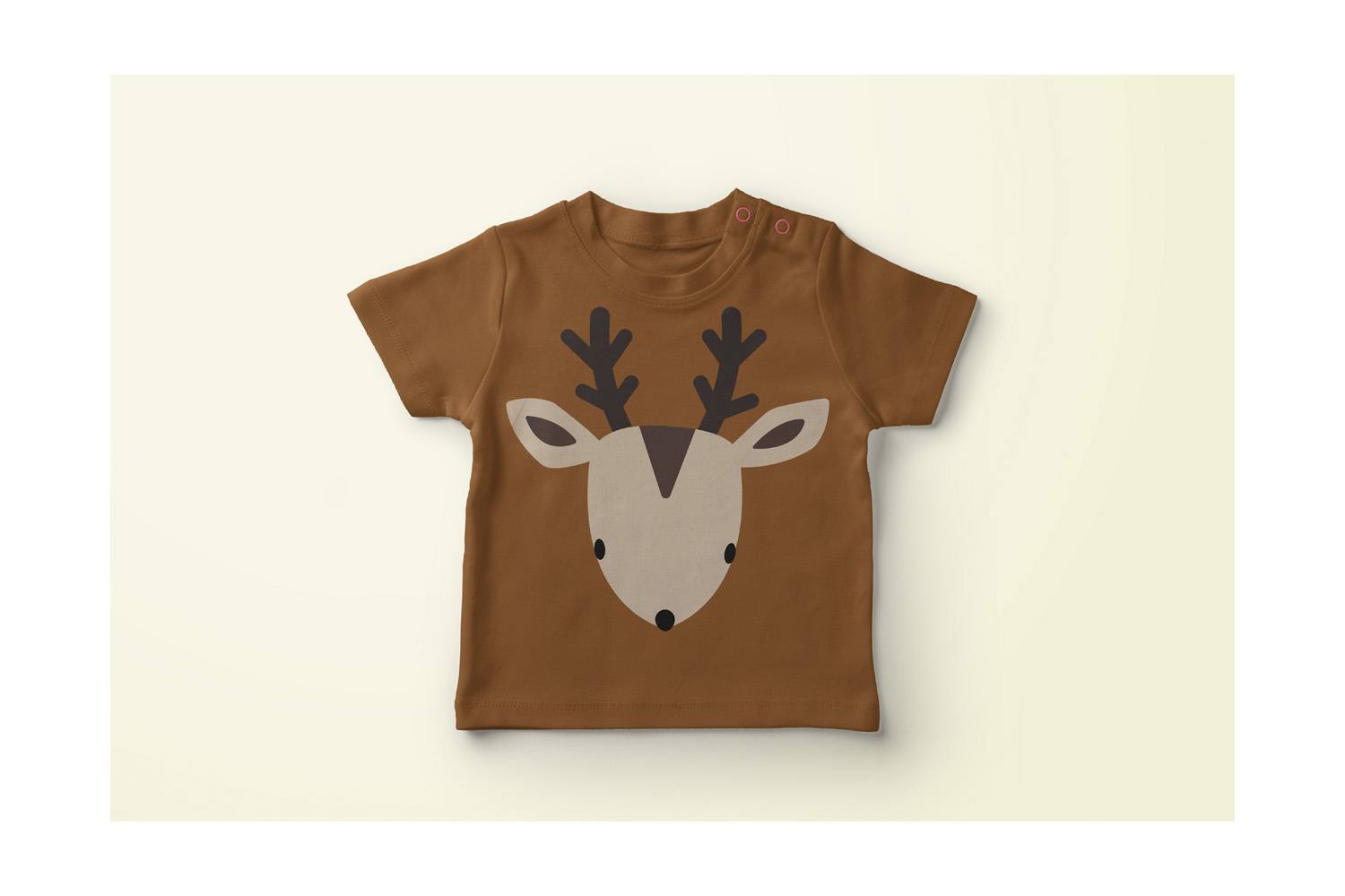 Christmas deer face svg file example image 2