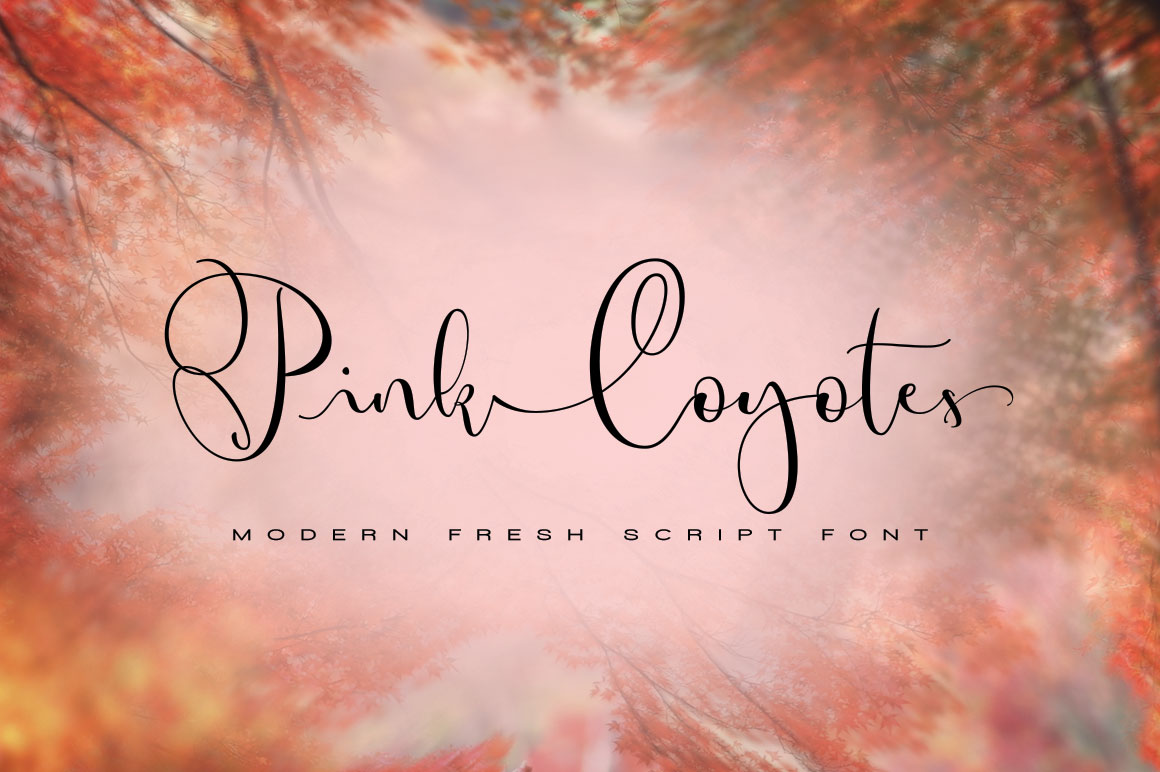 Pink Coyotes Script example image 1