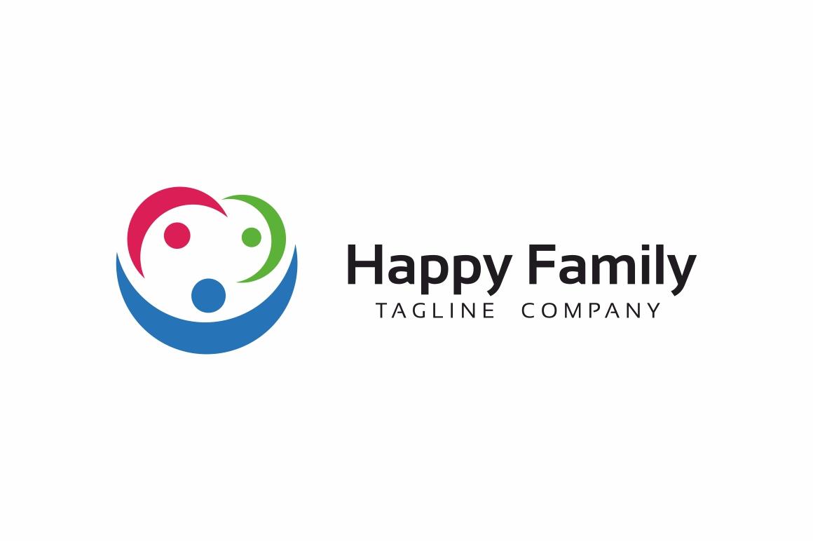 Happy Family Logo example image 3