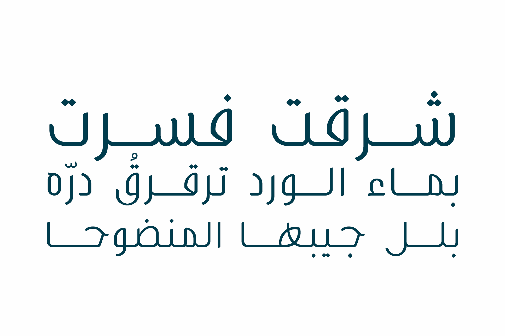 Bareeq - Arabic Typeface example image 4