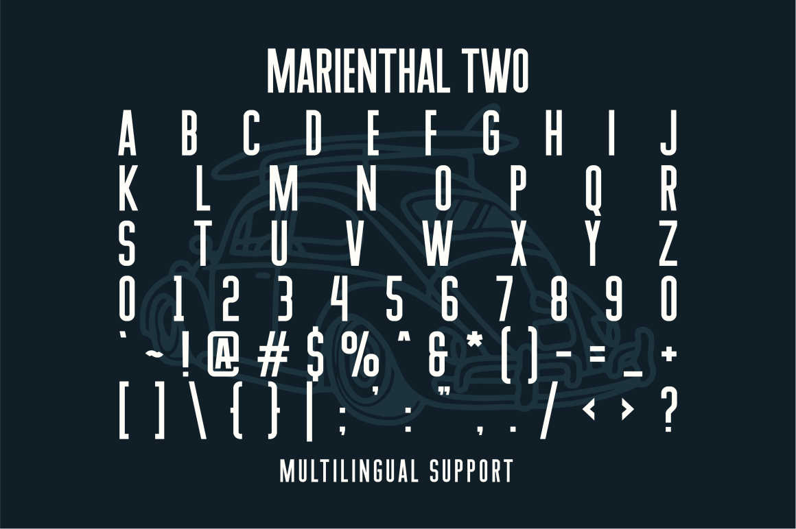 Marienthal Font Bundle Extras! example image 5