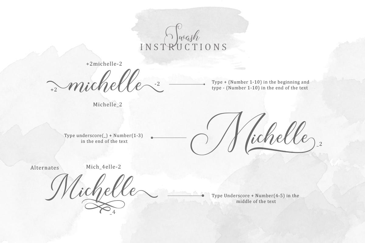 Roseville Script example image 6