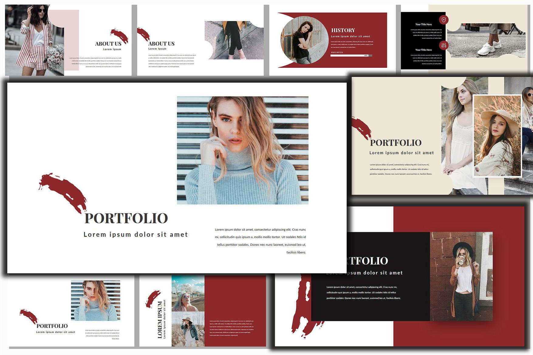 Dolor Stylish PowerPoint example image 3