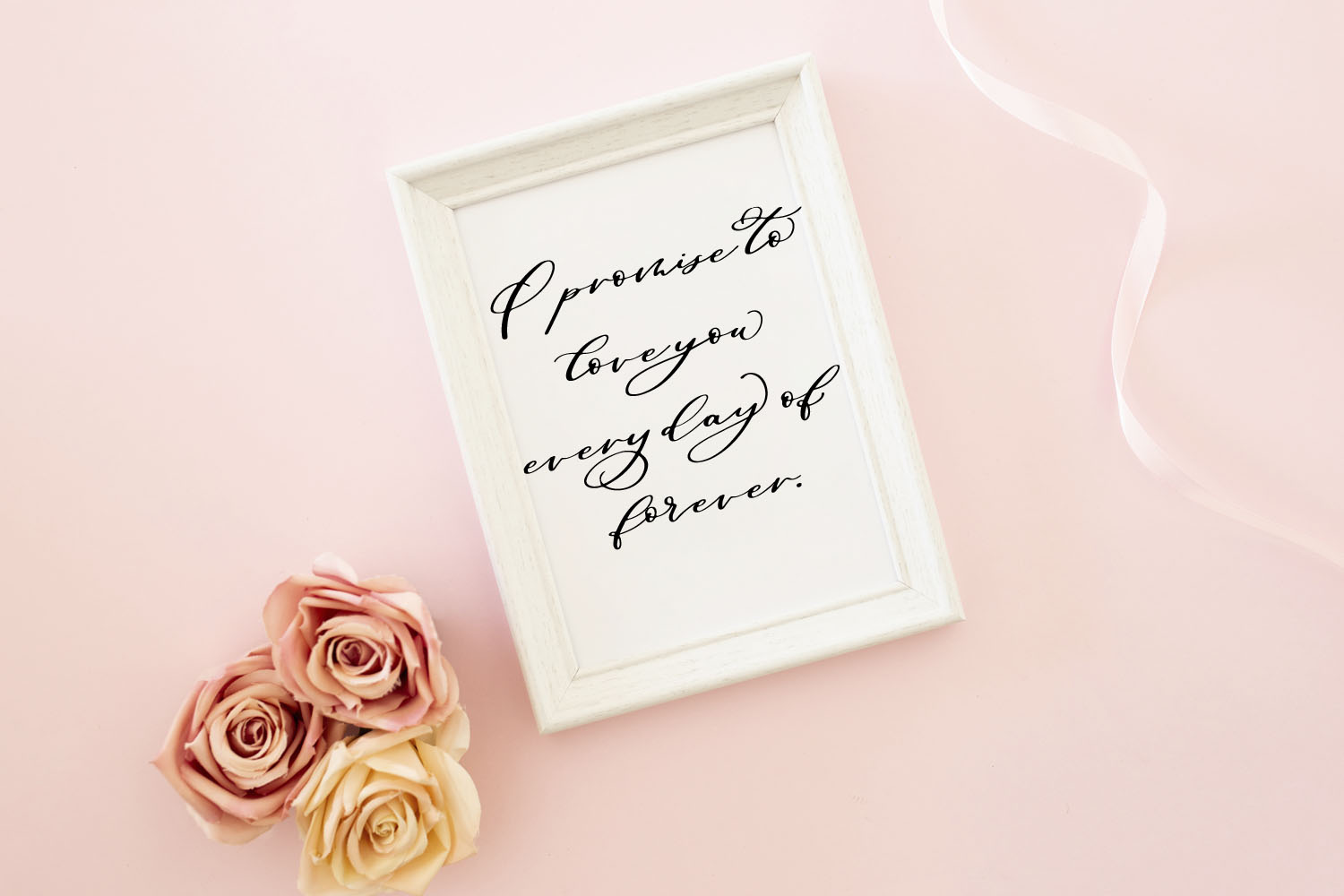 Maid Of Honor - A script font with matching doodles example image 9