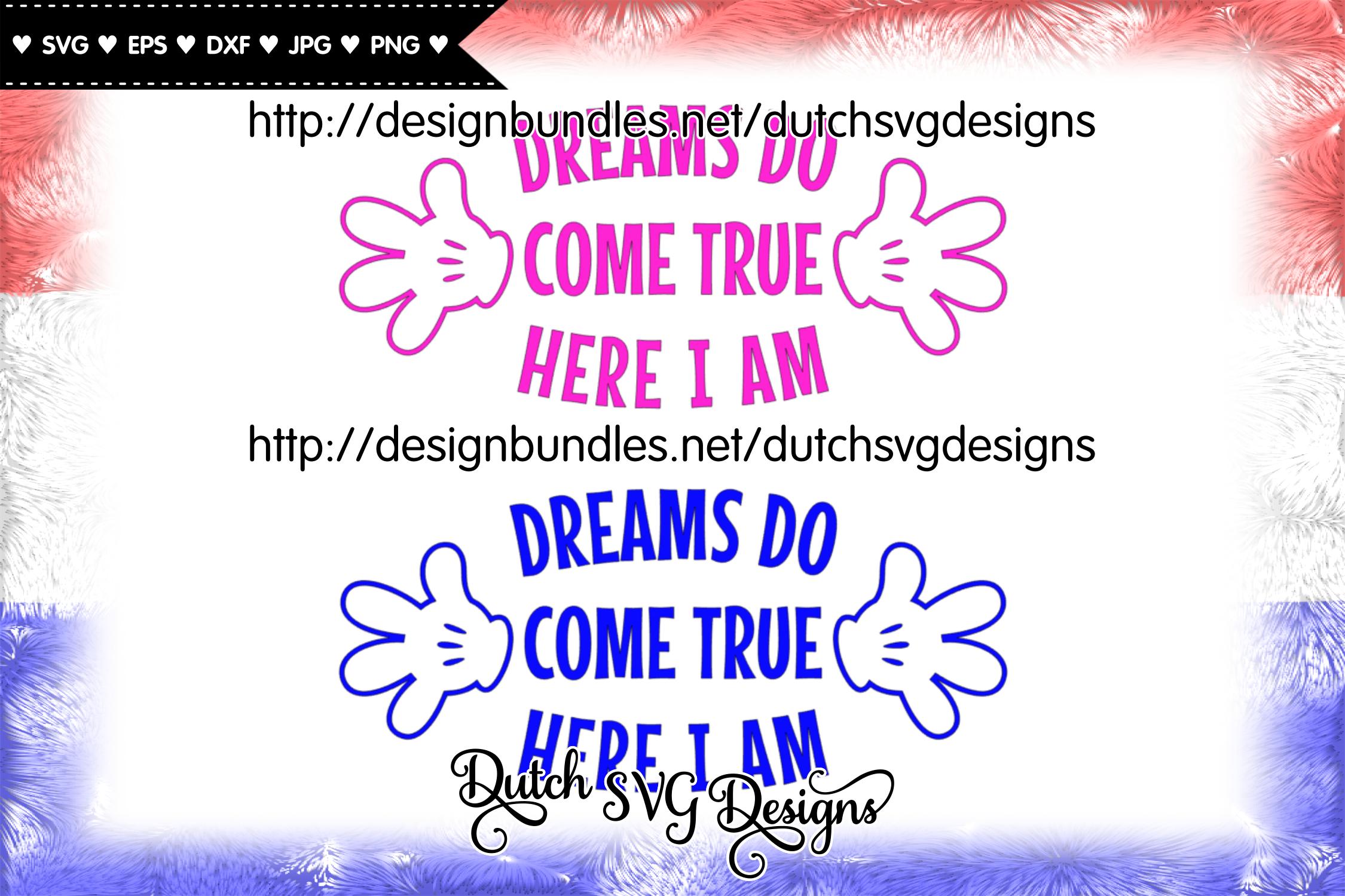 Cutting file Dreams, dreams svg, wish svg, baby svg example image 3