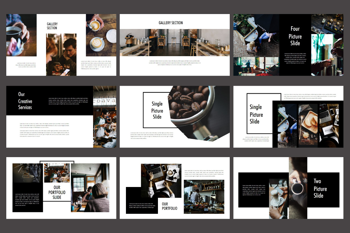 Roasting - Creative Keynote Template example image 6