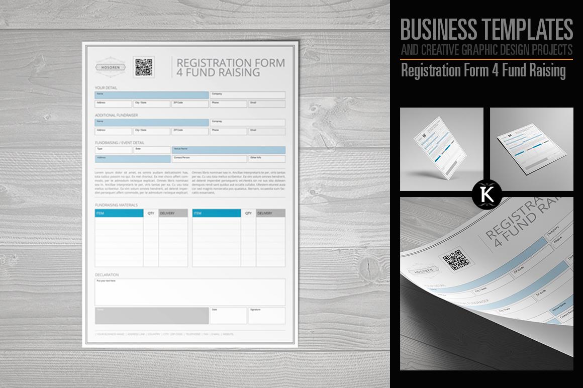 Registration Form 4 Fund Raising example image 1