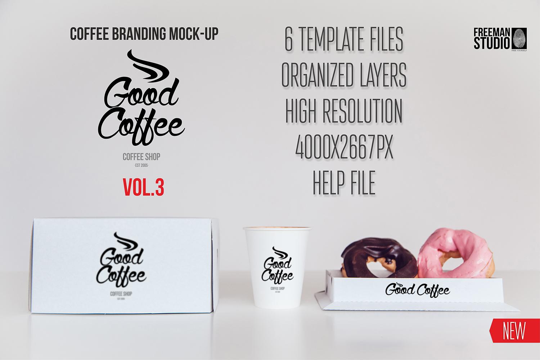 Coffee Branding Mock-up Vol 3 example image 1