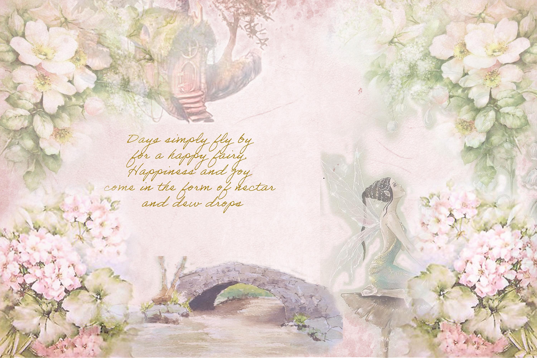 Printable Fairy Journaling Kit, Free Ephemera and PNGs example image 5