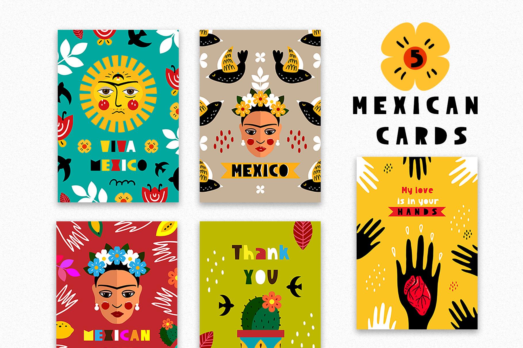 Love Frida - Mexican folk kit example image 4