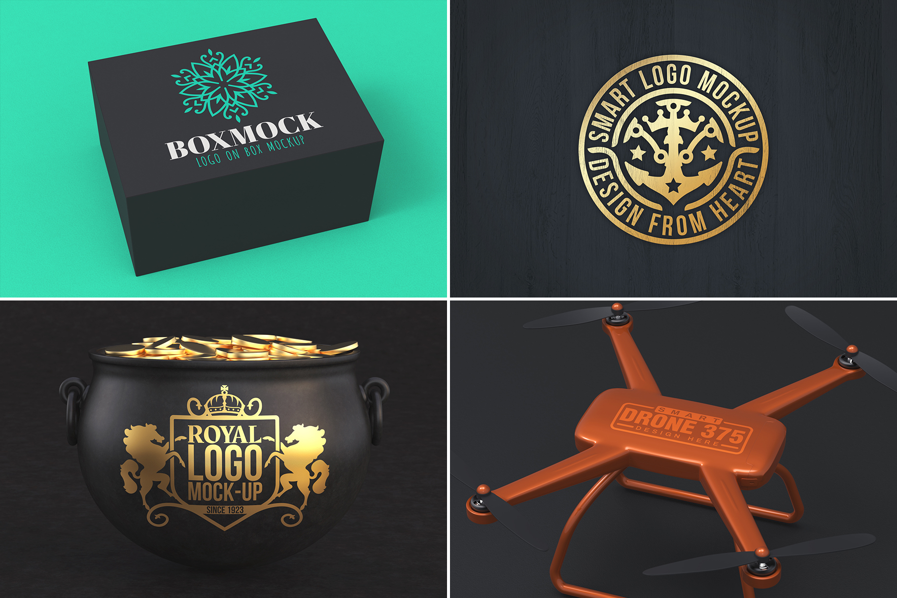 100 Logo Mockups Bundle Vol.2 example image 25