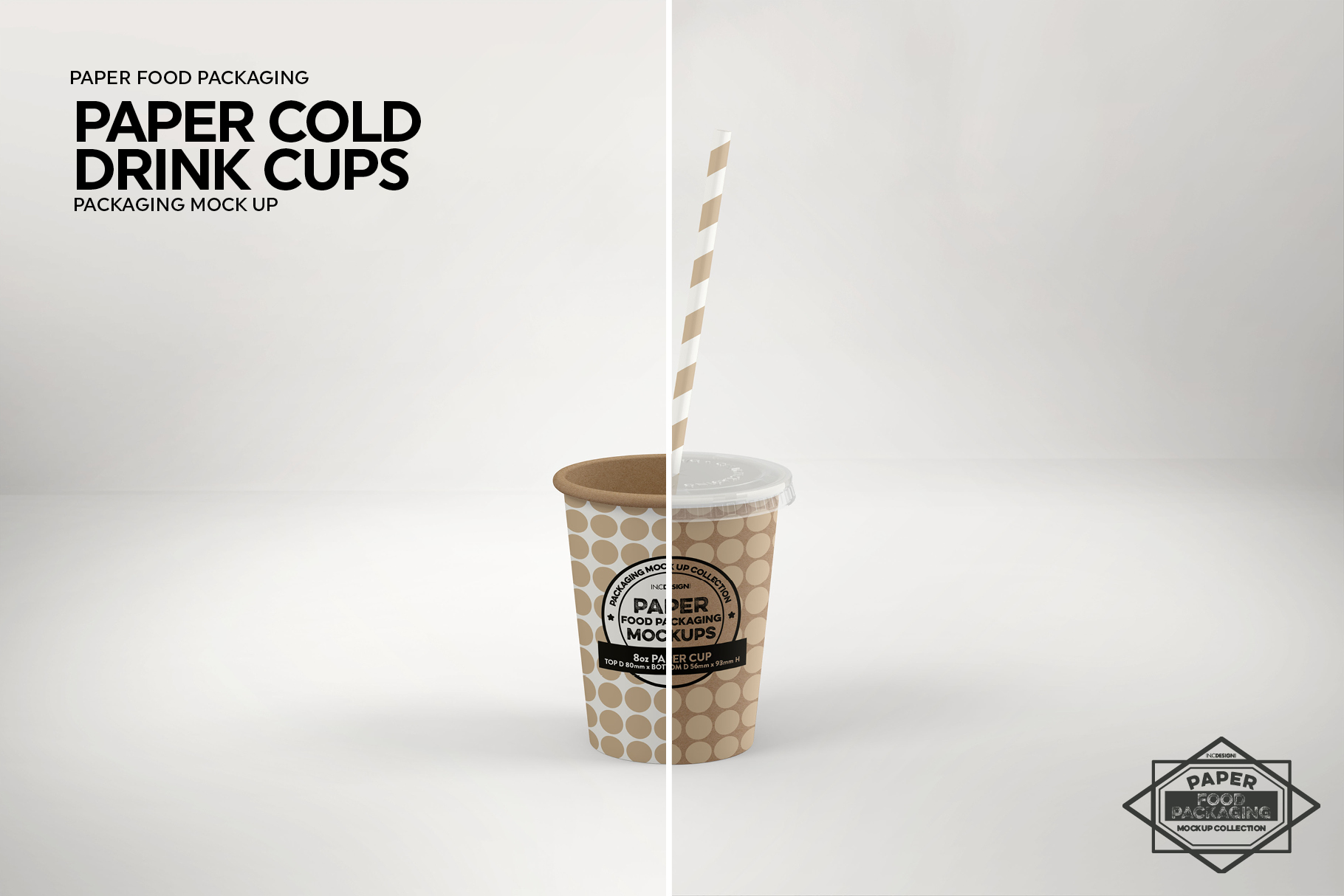 Paper Drink Cups Packaging Mockup example image 7